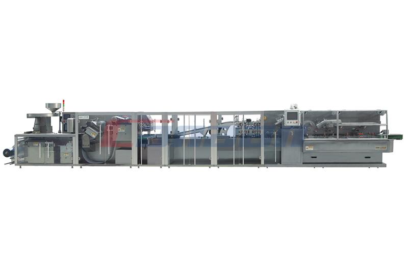 دف-260/320/360 عالية السرعة (آل-بلاستيك / بوكس) المتكاملة خط الانتاج