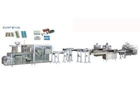 DPH-260 RX-250 ZH-200 Roller plate al-plastic double pillow cartoning production line